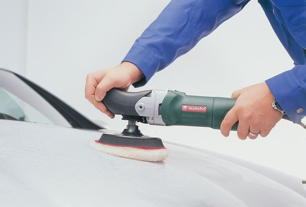 Мягкая полировка авто